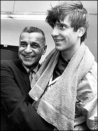 Coach Press Maravich & Pistol Pete